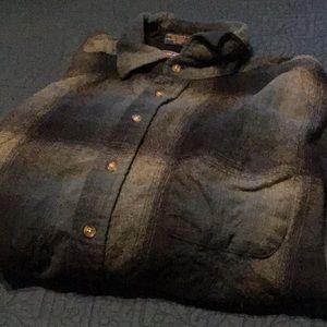 Pendleton Virgin Wool Long Sleeve XL Shirt